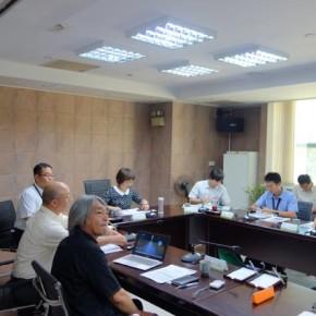 ≪2014.8.21 葉山 勉 精華大学教授 台湾訪問≫